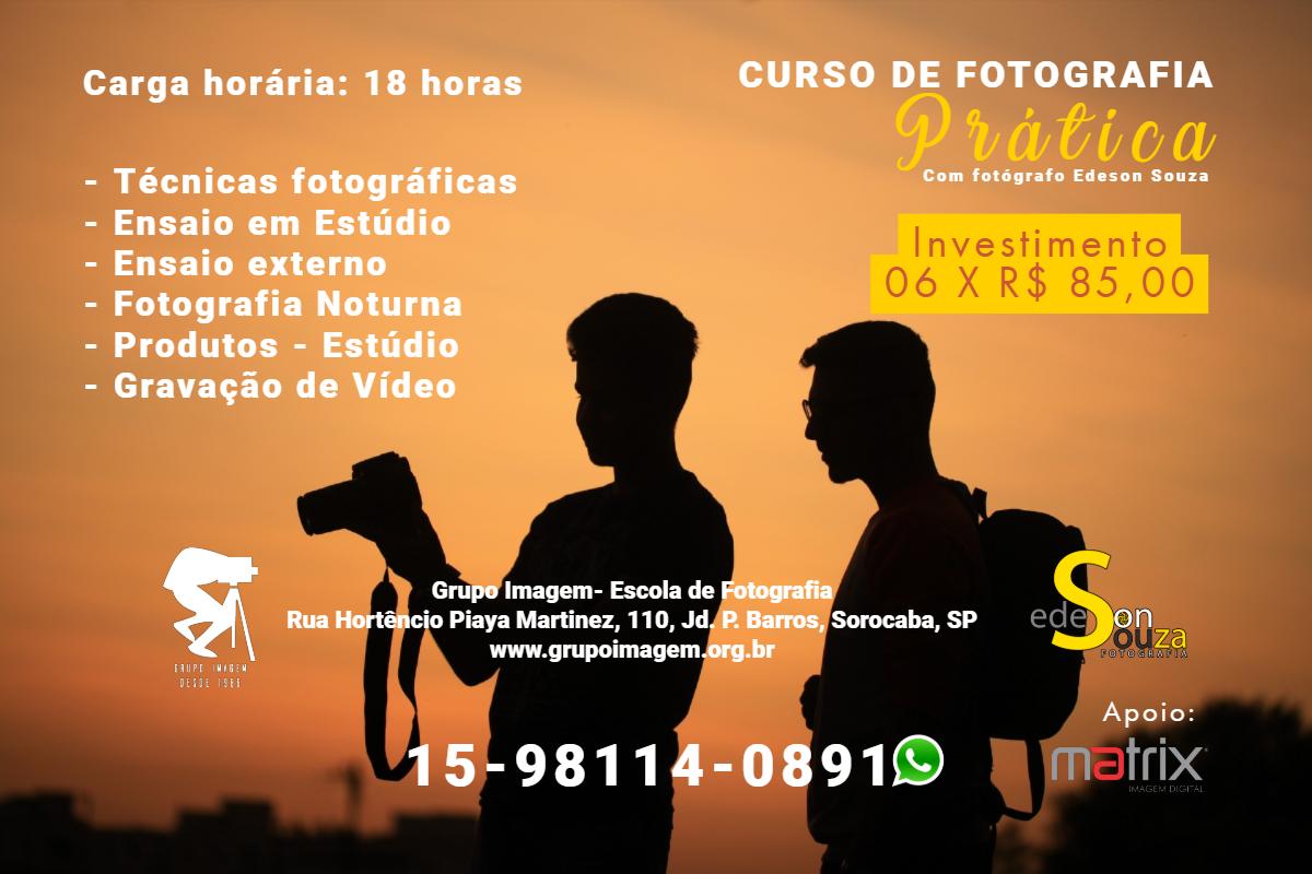 Imagem capa - Curso de Fotografia Prática por Grupo Imagem