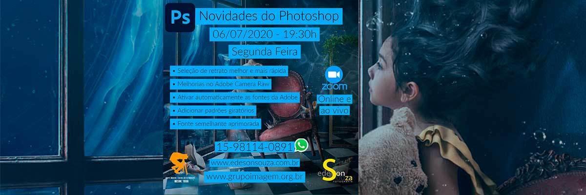 Imagem capa - Novidades Photoshop 2020 por Grupo Imagem