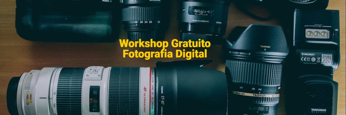 Imagem capa - Workshop Gratuito Fotografia Digital por Grupo Imagem