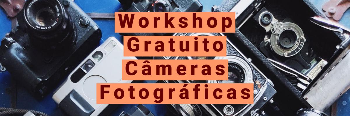 Imagem capa - Workshop Gratuito Câmeras Fotográficas por Grupo Imagem