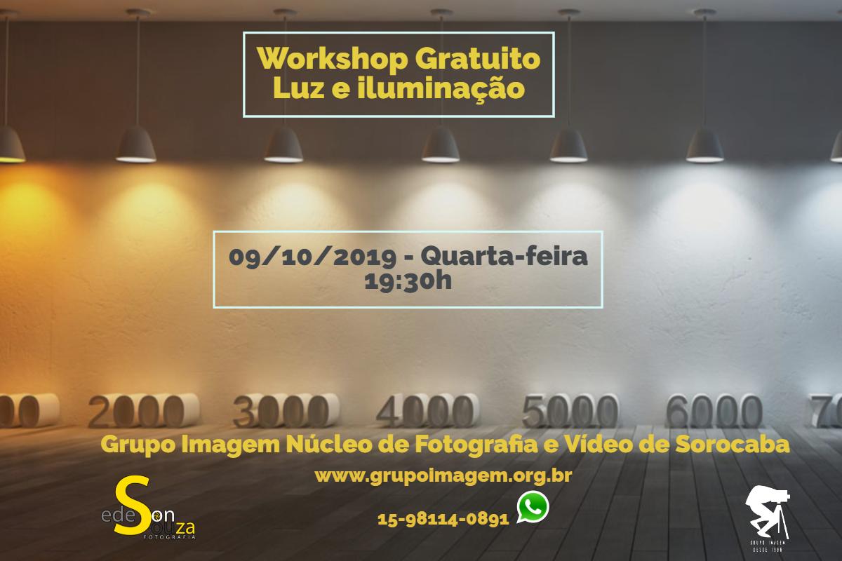 Imagem capa - Workshop Gratuito Luz e Iluminação por Grupo Imagem
