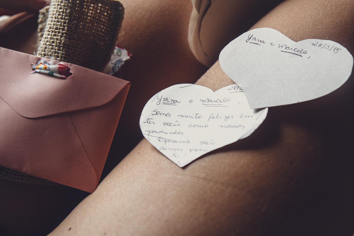 bilhetinho da noiva para os padrinhos