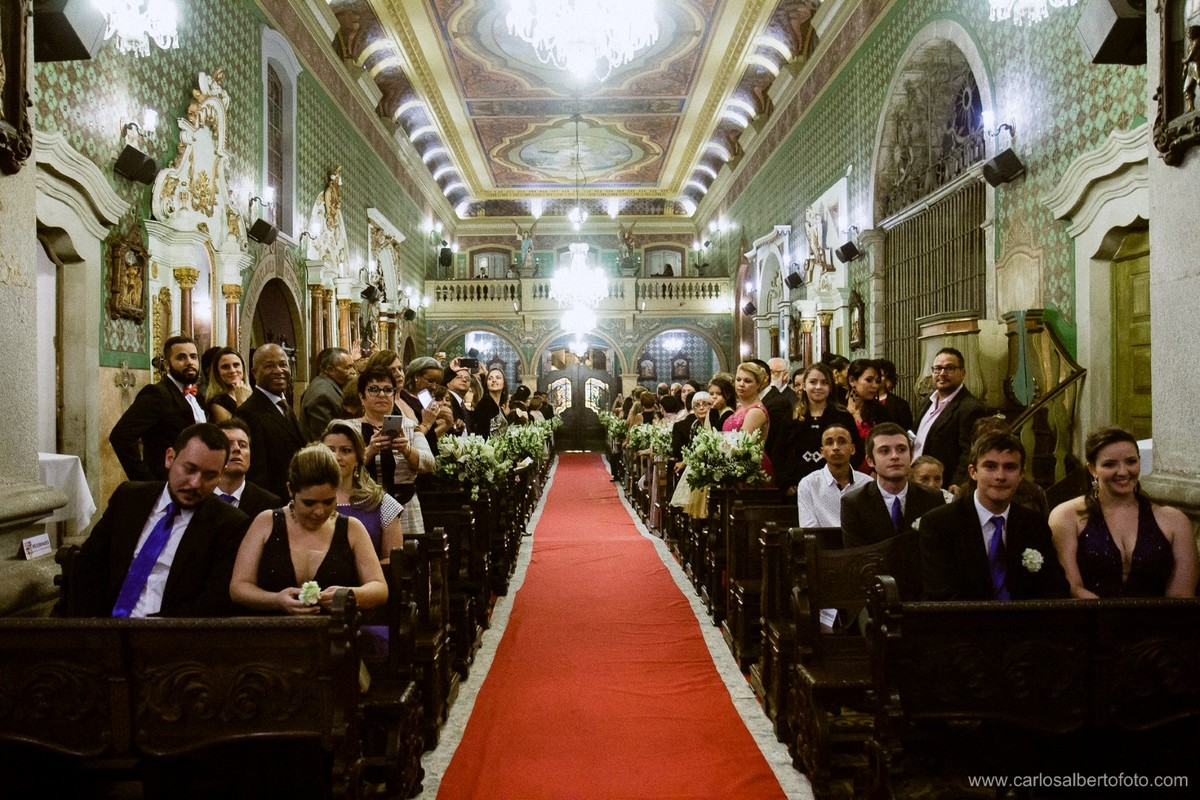 corredor da igreja do valongo