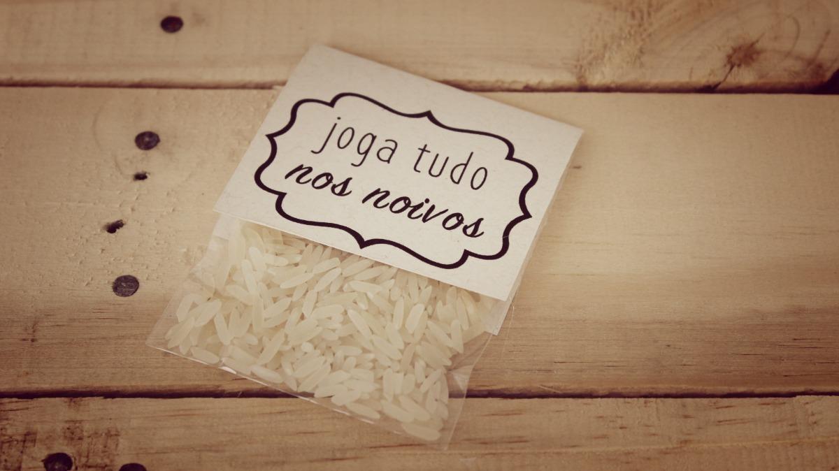 Imagem capa - A tradição do arroz no casamento por Carlos Alberto de Lima