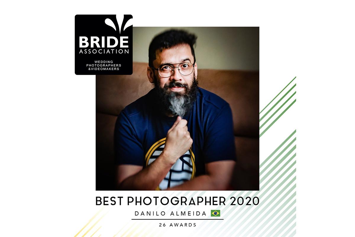 Imagem capa - Fotógrafo do Ano | Bride Association por Danilo Miranda de Almeida