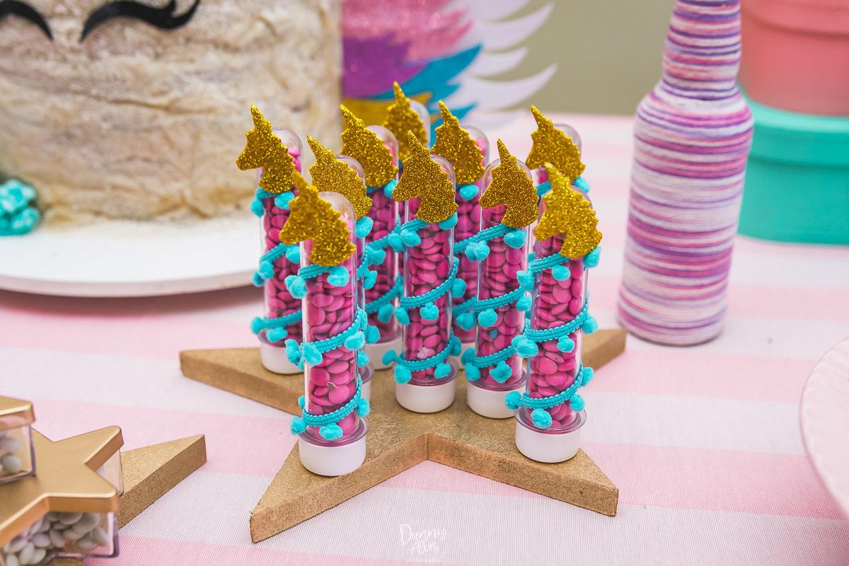 Festa Infantil Nina 6 anos [Unicórnio] Jardim Bot u00e2nico # Aluguel Decoração Festa Infantil Unicornio
