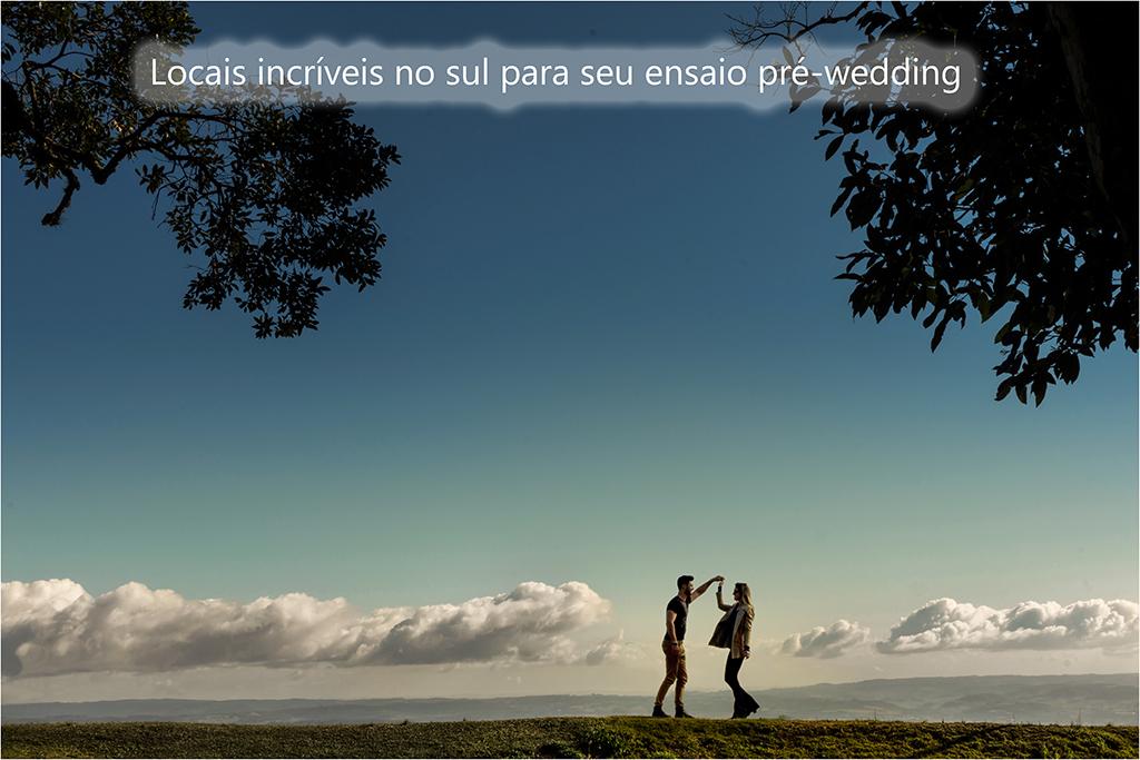 Imagem capa - Locais incríveis no sul para seu ensaio pré-wedding por Tony Duarte