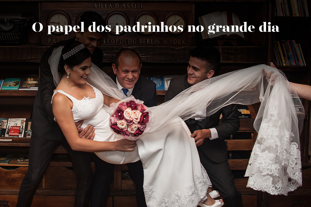 Imagem capa - O papel dos padrinhos no grande dia! por Tony Duarte