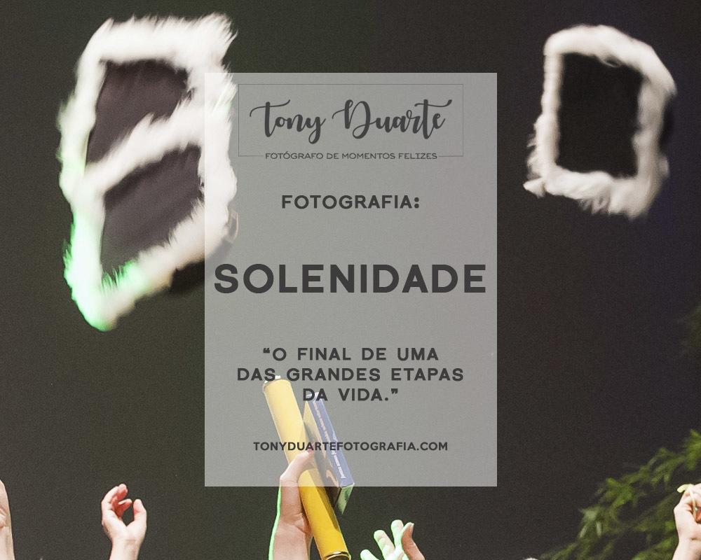 Imagem capa - Solenidade: dicas para a sua formatura dos sonhos! por Tony Duarte