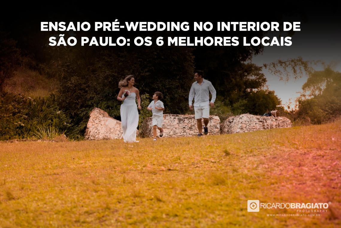 Imagem capa - Ensaio pré-wedding no interior de São Paulo: os 6 melhores locais por Ricardo Bragiato