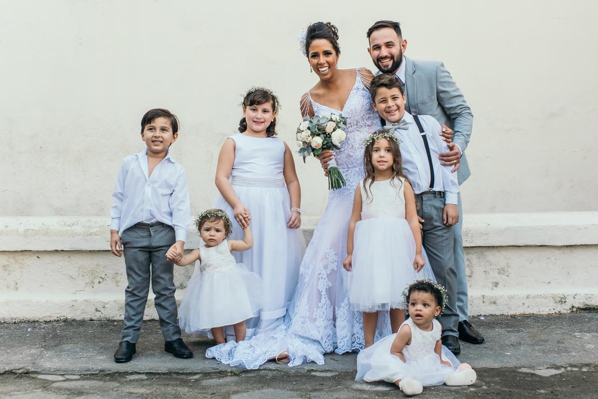 Imagem capa - A idade certa das crianças em um casamento por Palloma Campello
