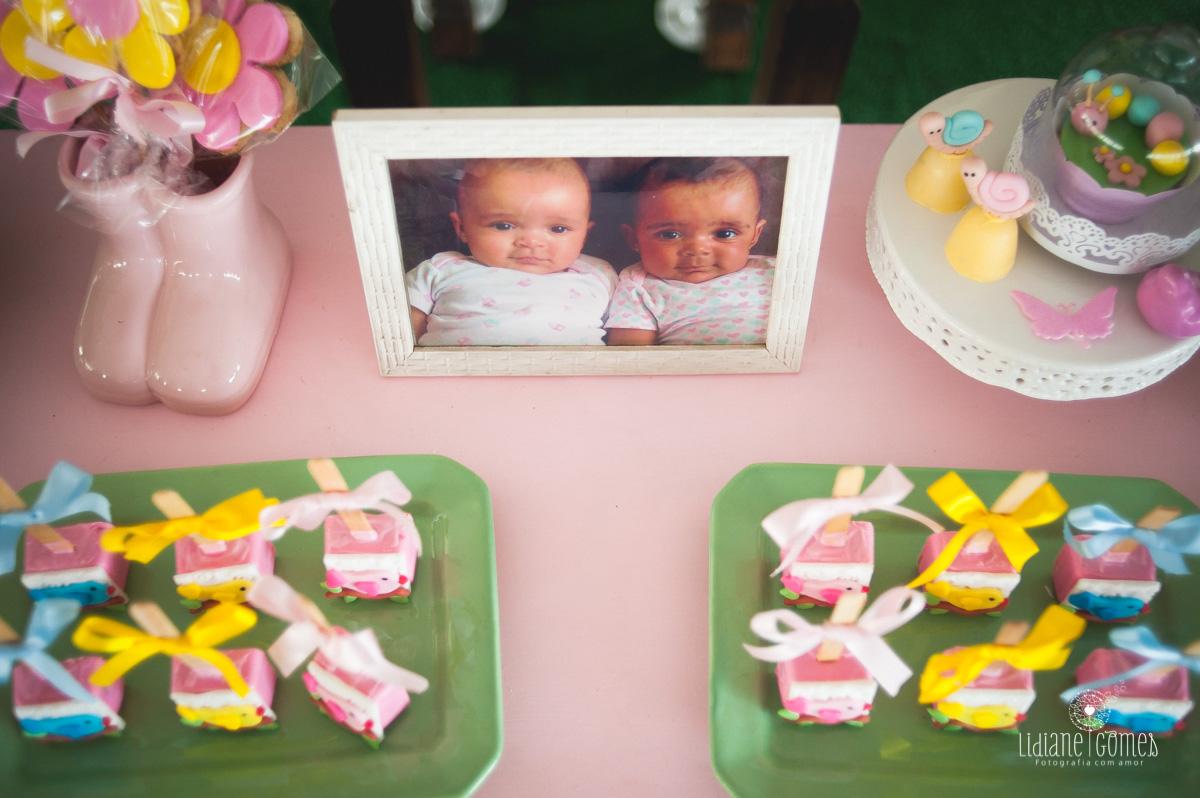 Imagem capa - Aniversário Sarah e Valentina por Lidiane Gomes