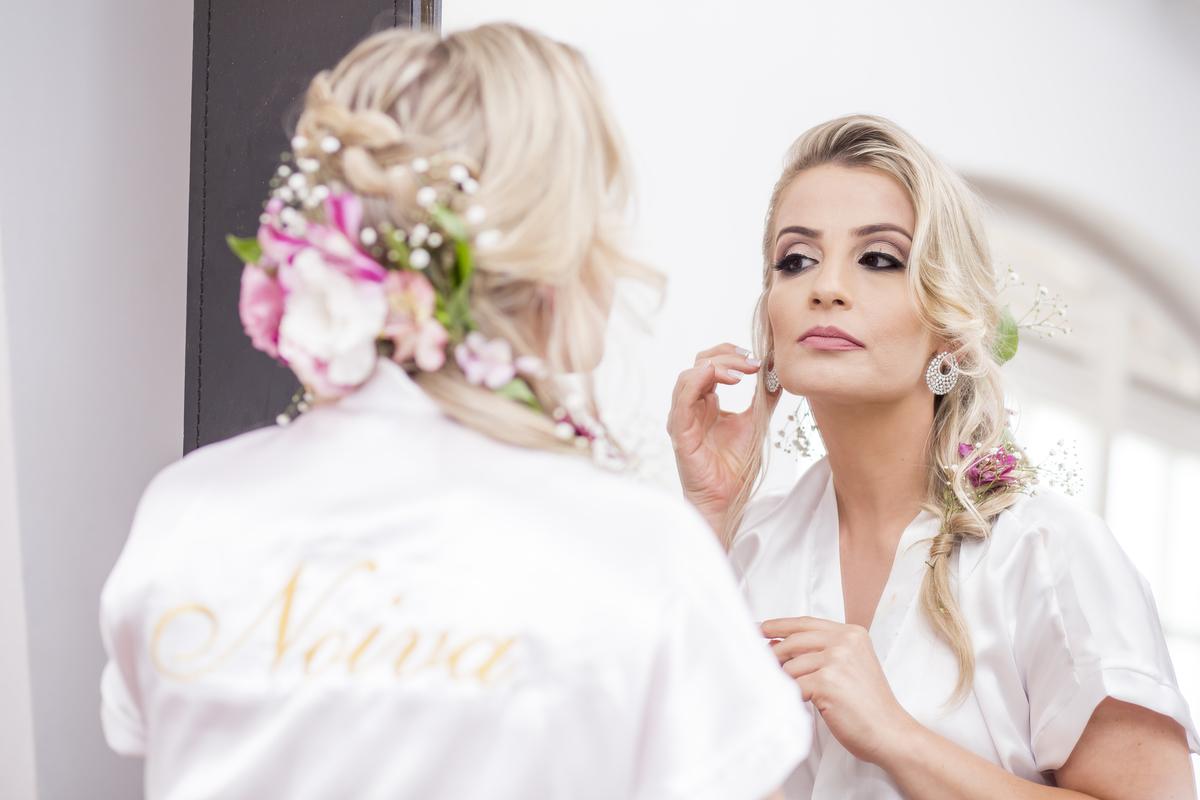 Fotografia de Making of Noiva