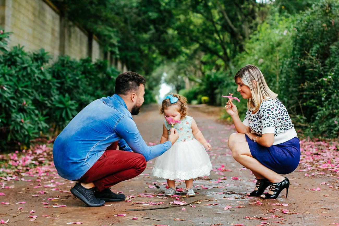 Contate Dona Borboleta Fotografia de Família