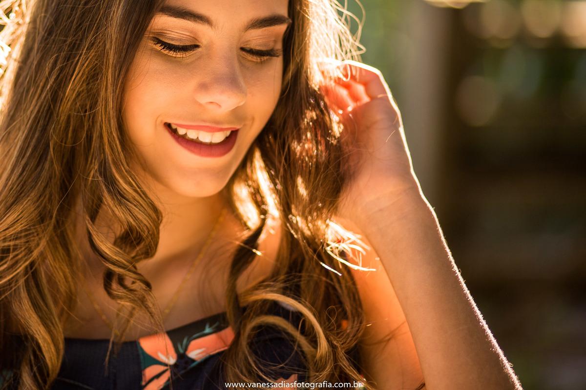 Imagem capa - Ensaio 15 Anos por Vanessa Dias