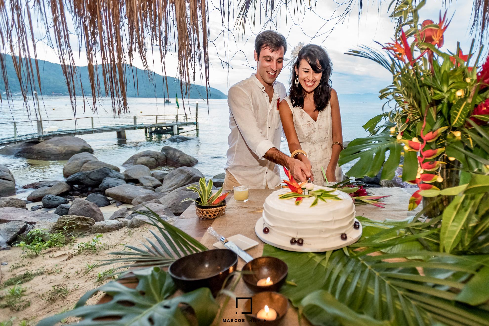 Imagem capa - Casamento na Praia - Ilha Grande por Marcos Bilate