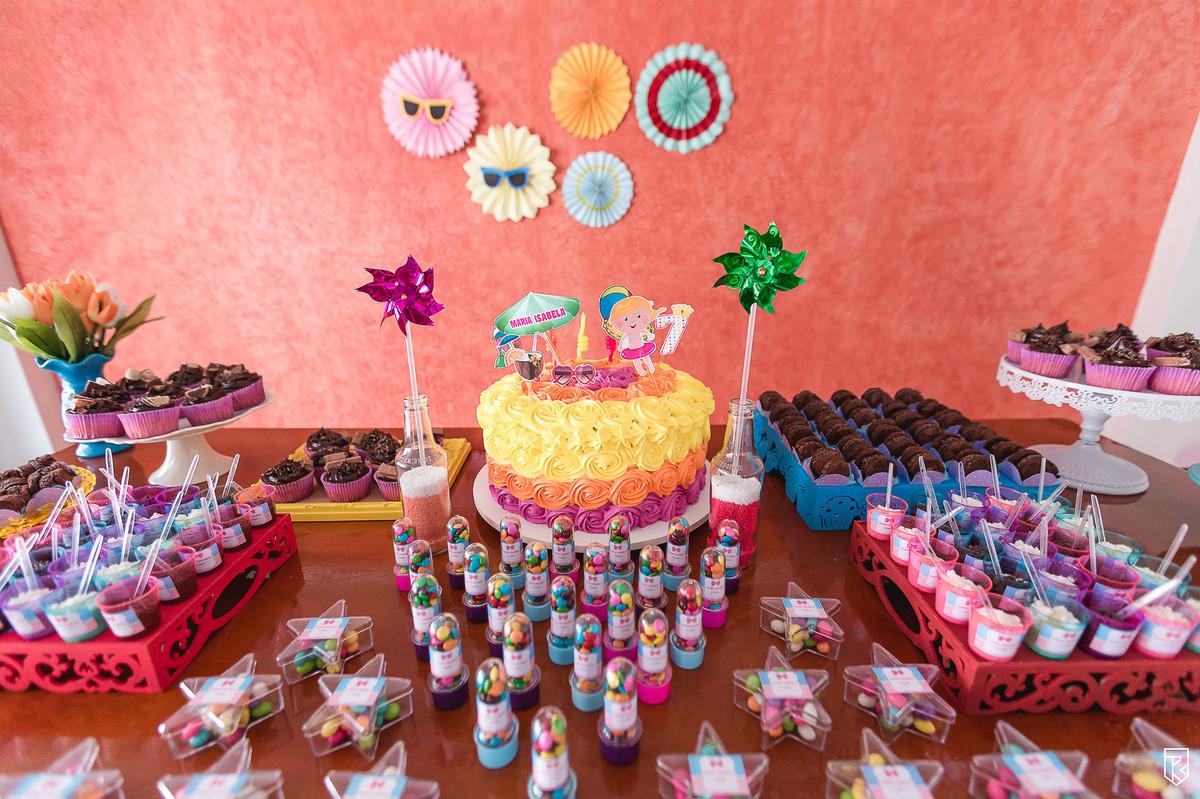 Super Festa Infantil - Festa na Piscina da Maria Isabela - Fortaleza - Ce LU61