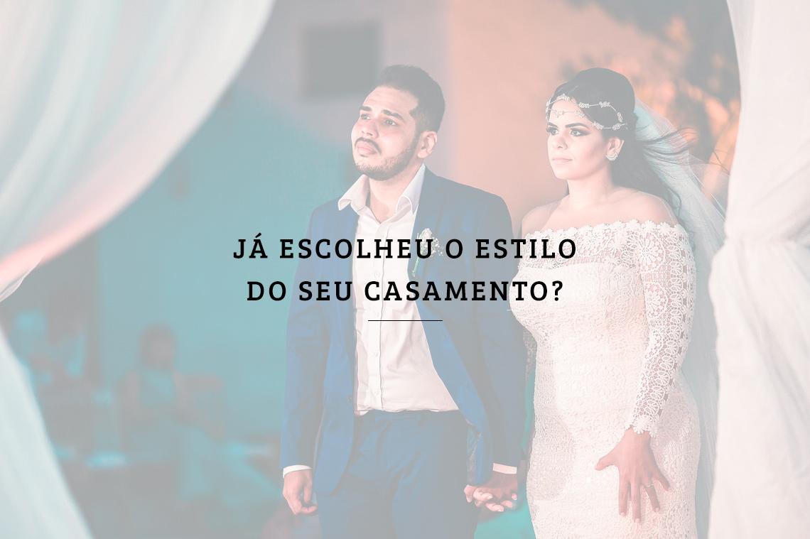 Imagem capa - Já escolheu o estilo do seu casamento? por RICARDO LIMA