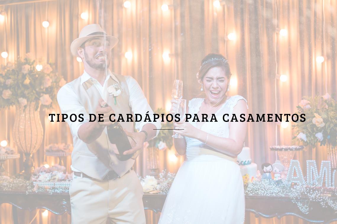 Imagem capa - Tipos de cardápios para casamentos por RICARDO LIMA