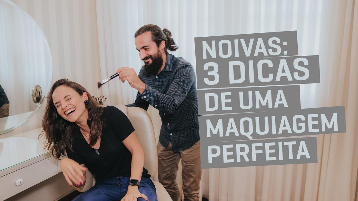 Imagem capa - Noivas: 3 dicas de uma maquiagem perfeita! por Victor Ataide