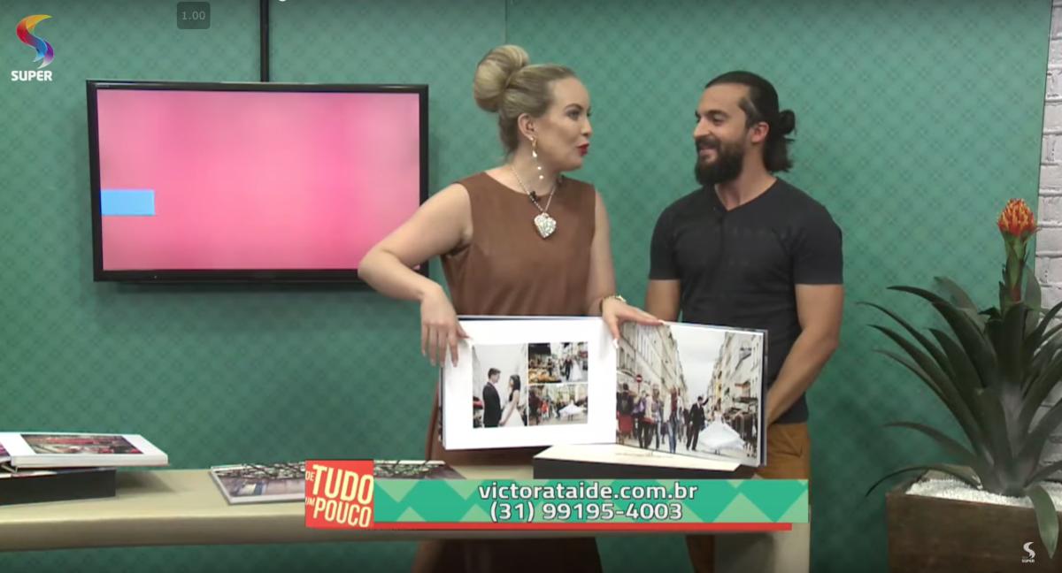 Imagem capa - VÍDEO: PARTICIPAÇÃO NA REDE SUPER DE TELEVISÃO por Victor Ataide