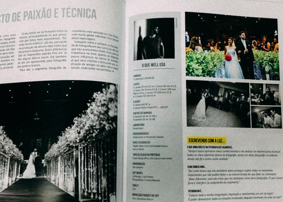 Imagem capa - Matéria Publicada | Revista FHOX por Well Fernandes