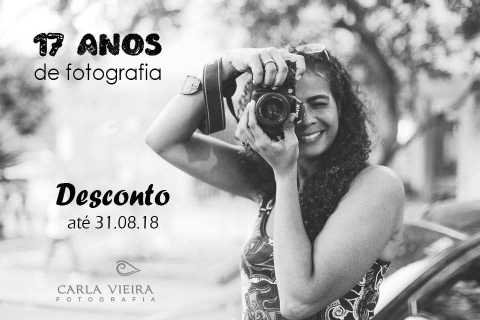 Imagem capa - No mês de agosto comemoro mais um ano na fotografia por Carla Vieira