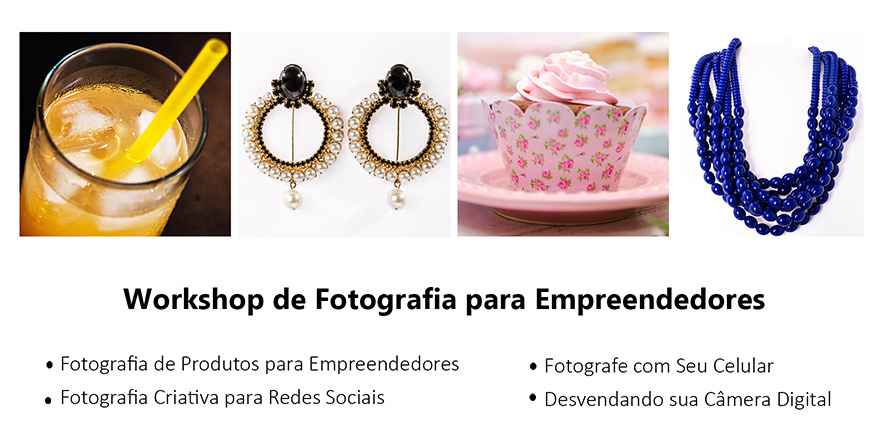 Imagem capa - Workshop de Fotografia para Empreendedores por Carla Vieira