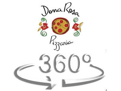 Imagem capa - DONA ROSA PIZZARIA clique na imagem para acessar o TOUR VIRTUAL por EDSON HASEGAWA