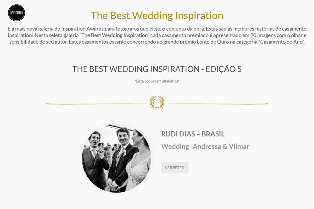 Imagem capa - PREMIAÇÃO | THE BEST WEDDING | 5ª EDIÇÃO por Rudi Dias