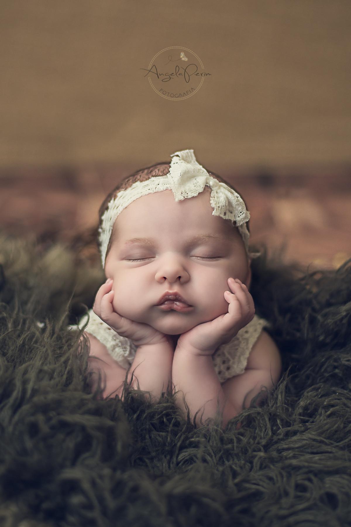Newborn Maria Alice - 8 dias - muito charme