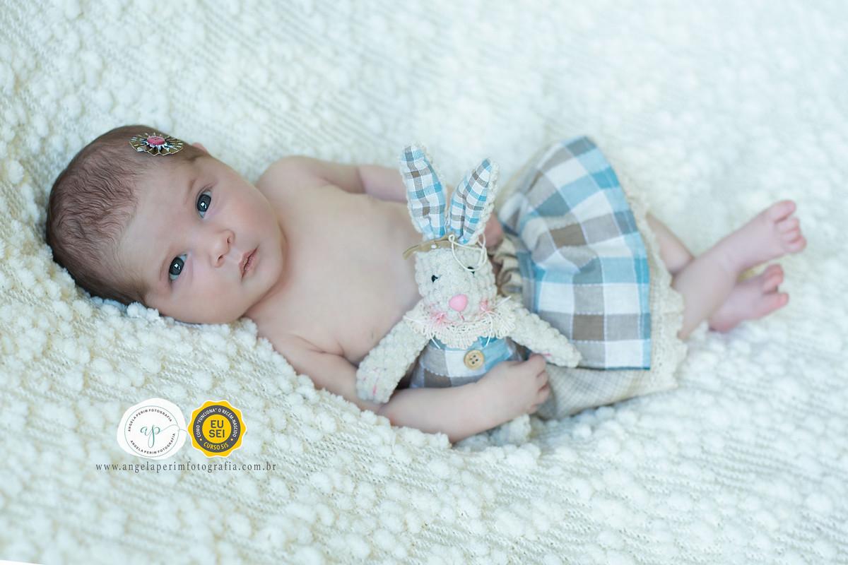 Newborn Maria Alice 8 dias
