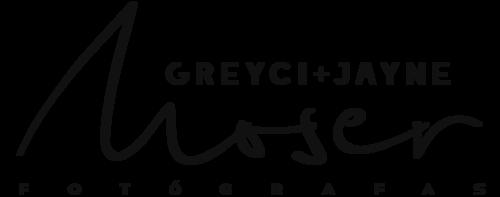 Logotipo de Greyci + Jayne Moser Fotógrafas