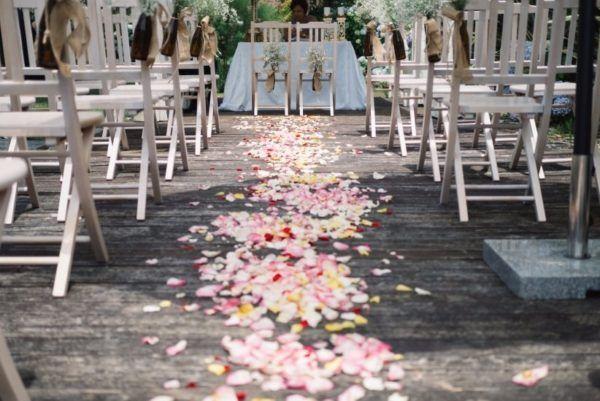 Imagem capa - Ideias para Decoração de Casamento com Corredor de Pétalas por JEFFERSON MARCOS MODESTO DA SILVA