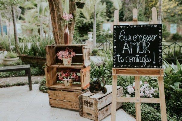 Imagem capa - Ideias para Decoração de Casamento 2020 Plaquinhas por JEFFERSON MARCOS MODESTO DA SILVA