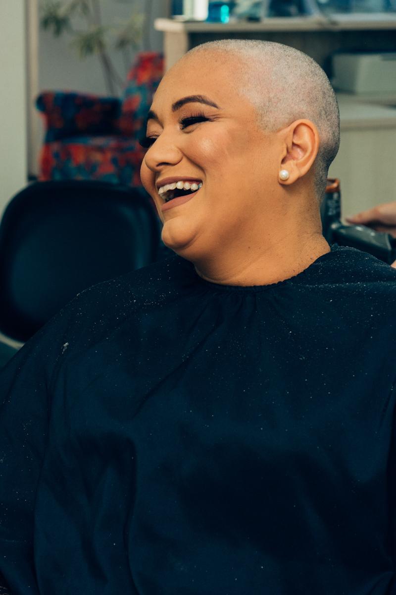 câncer de mama, superação, corte de cabelo, anelise piccini, fotógrafo, fotógrafa, passo fundo, família, mãe, sorriso