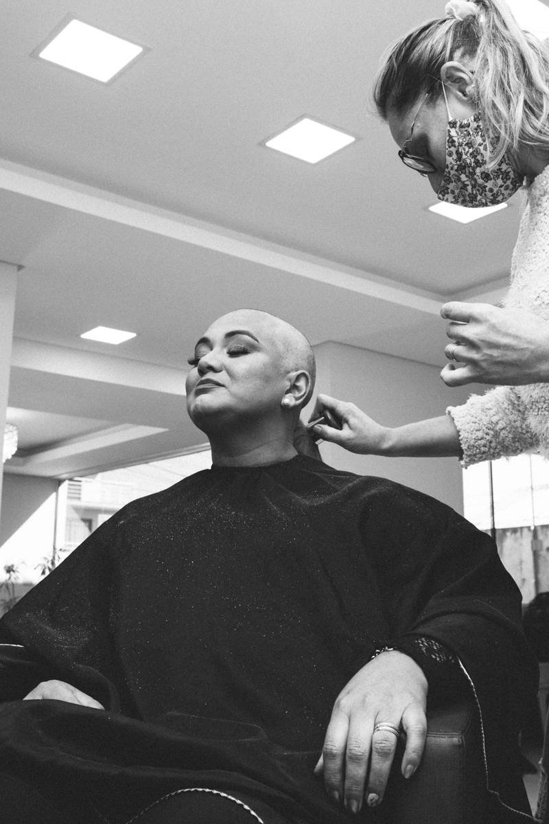 câncer de mama, superação, corte de cabelo, anelise piccini, fotógrafo, fotógrafa, passo fundo, família, mãe,
