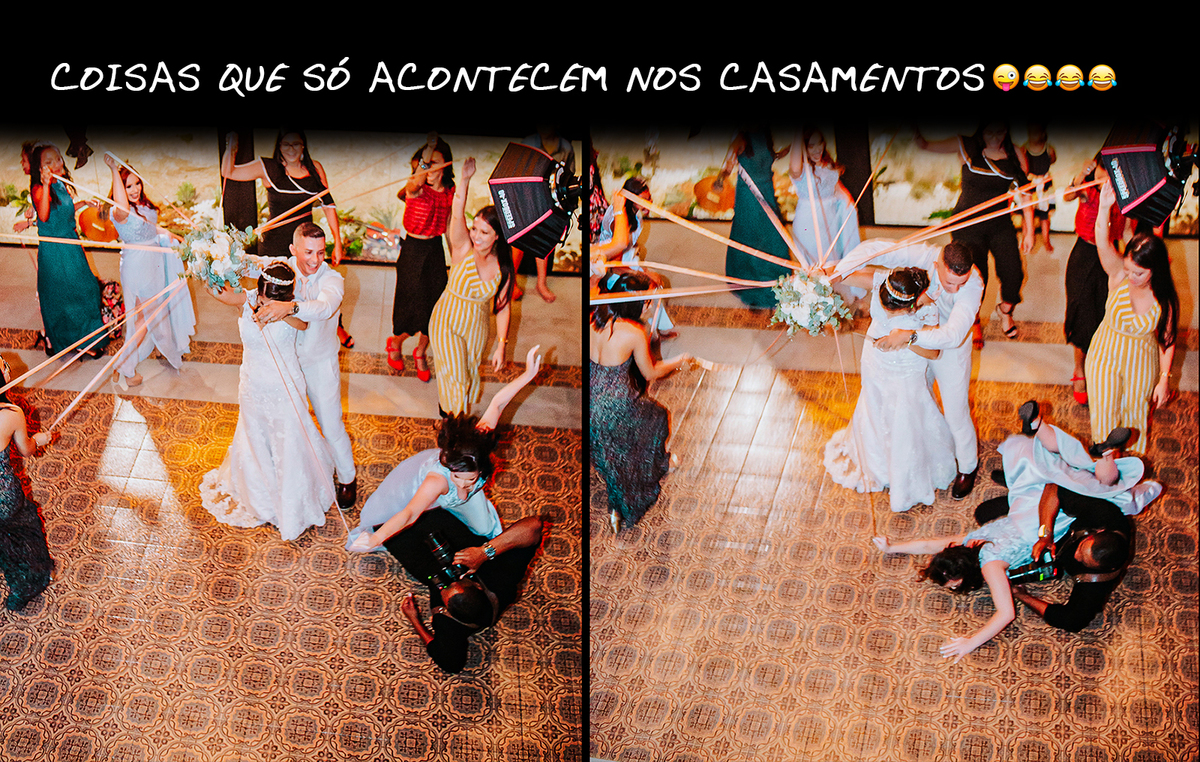 Imagem capa - FATOS ENGRAÇADÍSSIMOS QUE SÓ ACONTECEM NOS CASAMENTOS 😝😝 por Adilson Teixeira