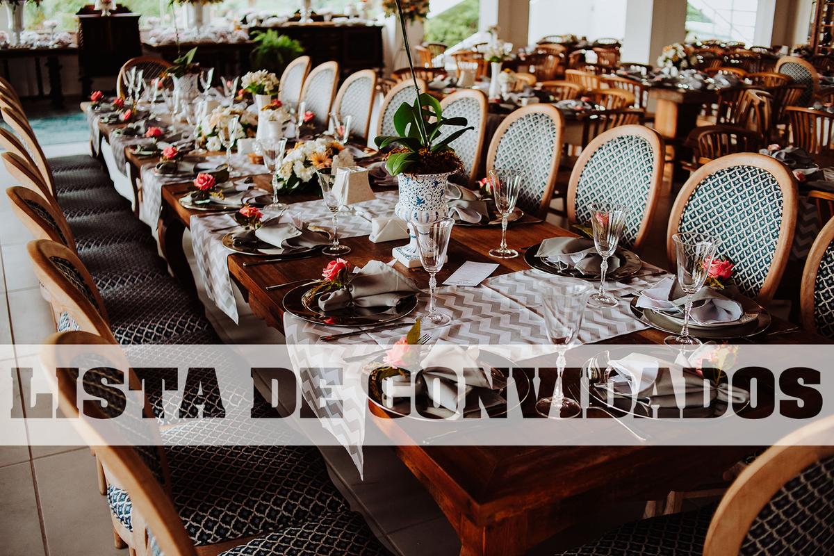 Imagem capa - 10 DICAS DE COMO MONTAR A LISTA DE CONVIDADOS PERFEITA por Adilson Teixeira