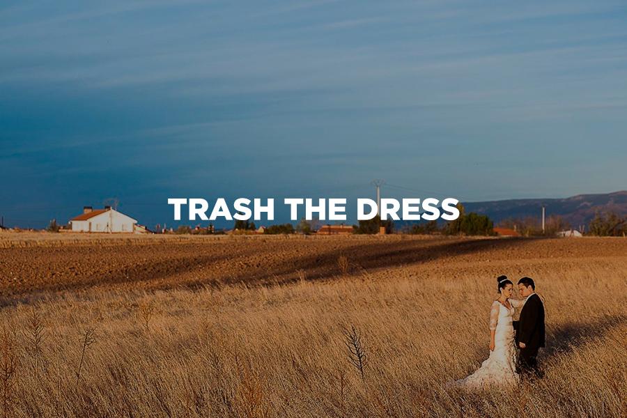 Imagem capa - A cultura americana do ensaio Trash The Dress por Leandro Monteiro