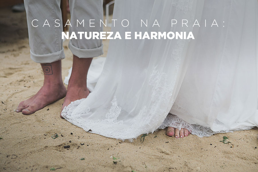 Imagem capa - Casamento na praia: natureza e harmonia por Leandro Monteiro