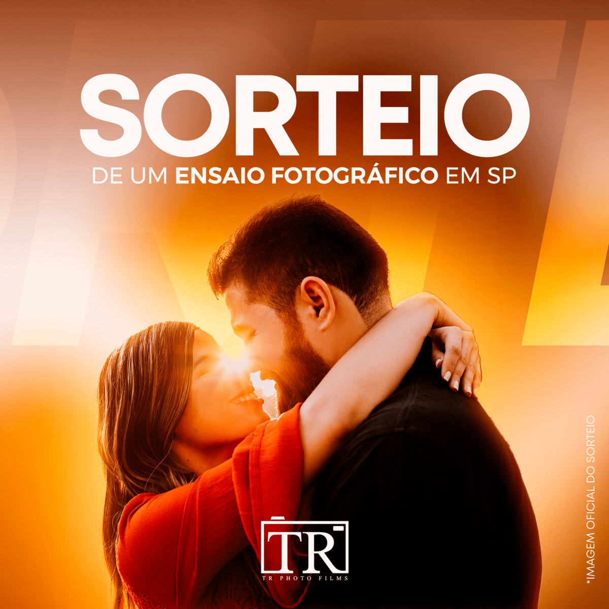 Imagem capa - Sorteio Ensaio Fotográfico em SP por TR PHOTO FILMS