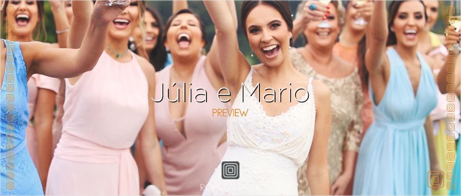Imagem capa - O Casamento de Júlia e Mário por Romulo Ricardo da Rosa