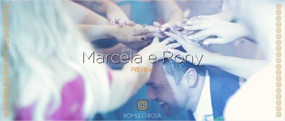 Imagem capa - O casamento de Marcela e Rony - São josé, SC por Romulo Ricardo da Rosa