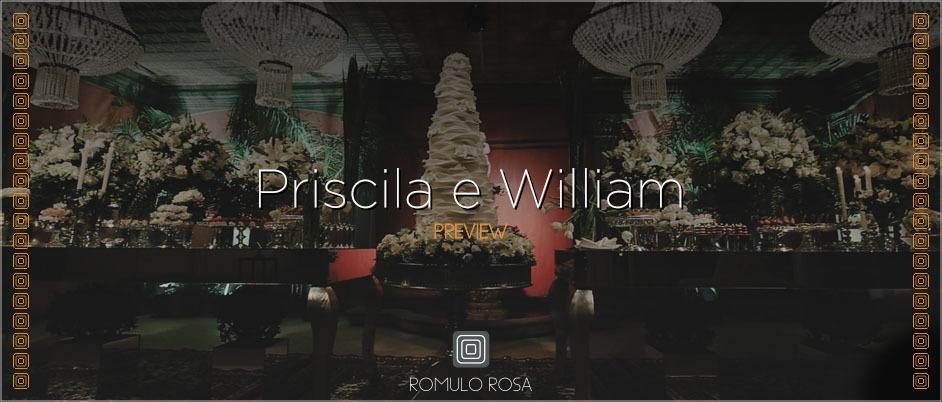 Imagem capa - O Casamento de Priscila e William por Romulo Ricardo da Rosa