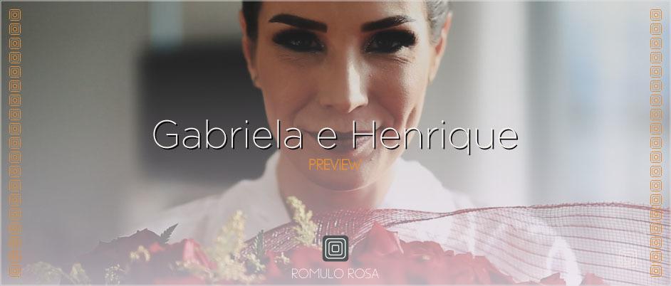 Imagem capa - O Casamento de Gabriela e Henrique por Romulo Ricardo da Rosa
