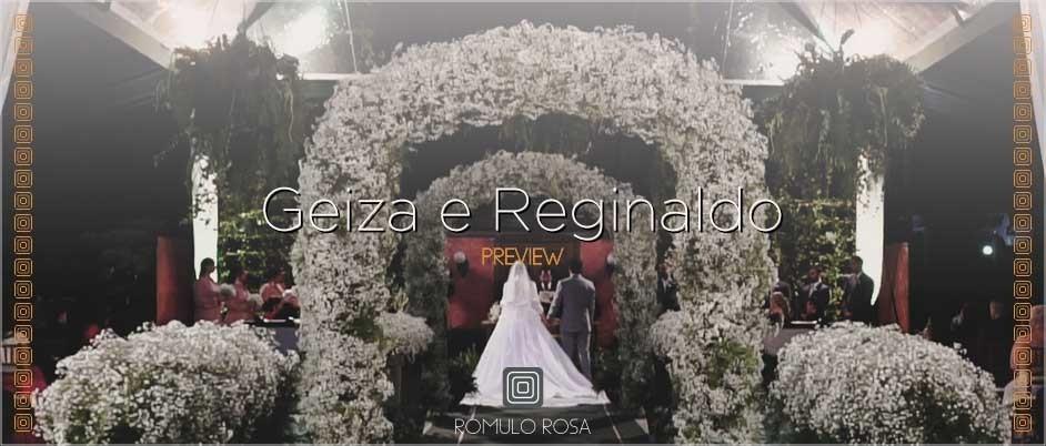 Imagem capa - O Casamento de Geiza e Reginaldo por Romulo Ricardo da Rosa