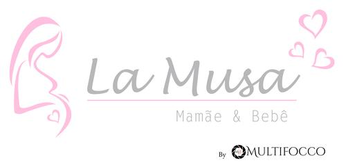 Logotipo de LaMusa Fotografia mamãe e bebê-Newborn