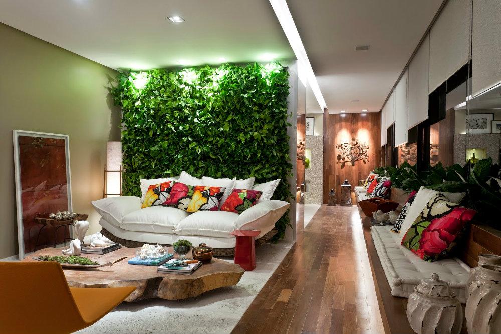 Imagem capa - Tendência de decoração: veja como usar o jardim vertical! por Maíra Onofri