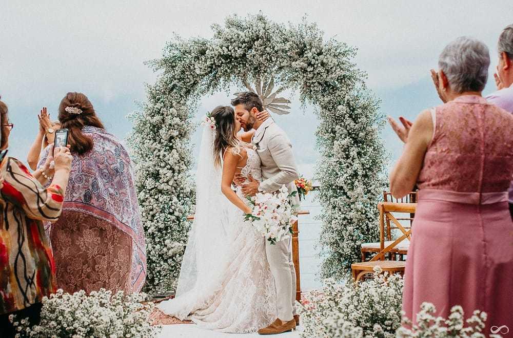 Imagem capa - DESTINATION WEDDING EM ILHABELA por Florearte Eventos